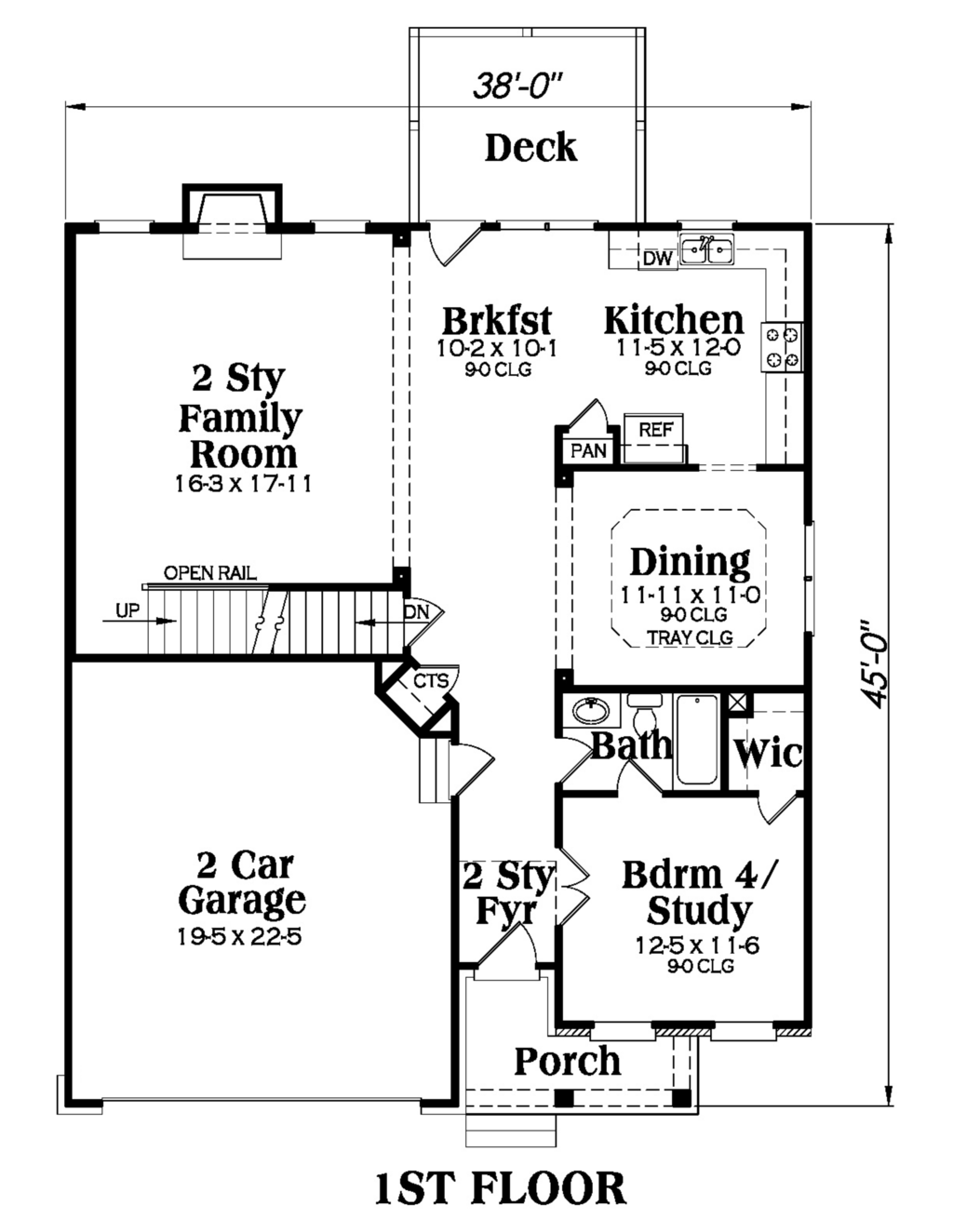 Add 250 Square Feet With Master Between Garage And Stairs