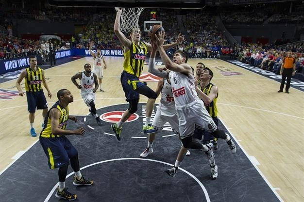 Basketball Real And Olympiakos Reach Euroleague Final Finals Real Madrid Champion