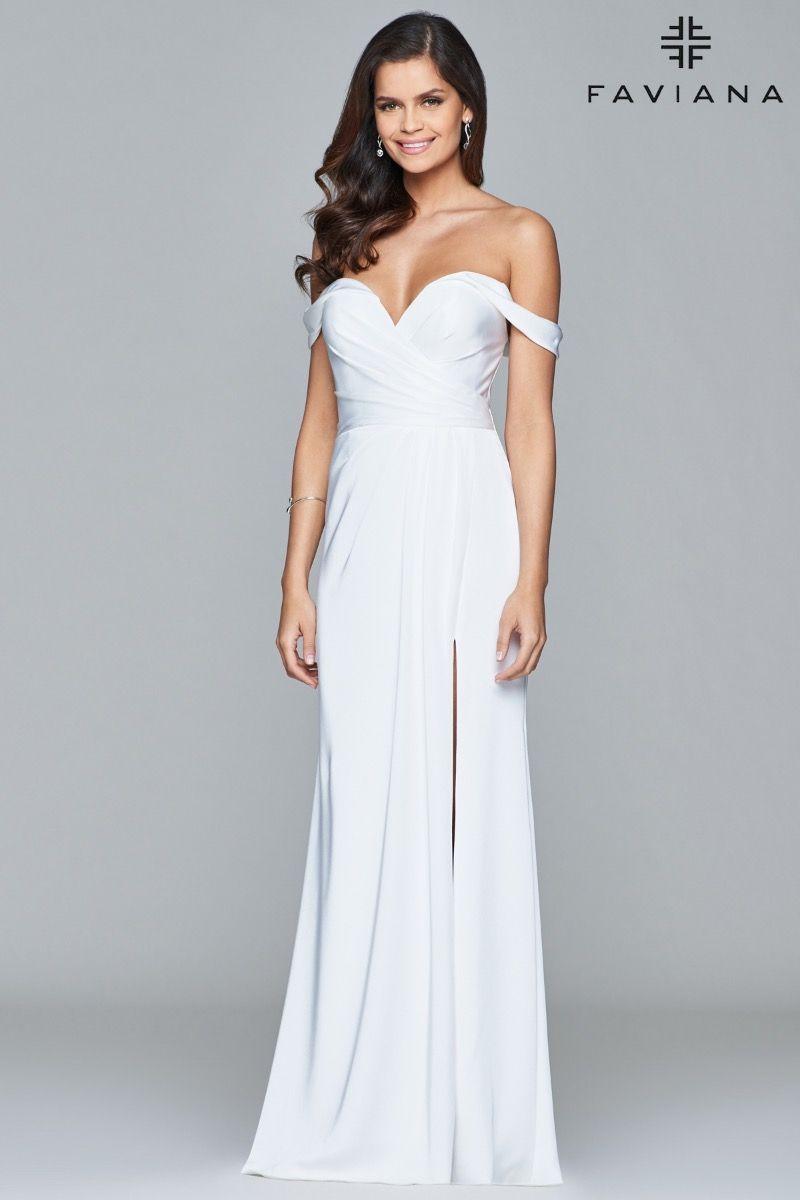 all faviana dresses pinterest slit prom dresses purple