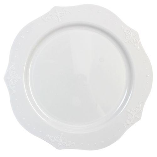 Antique collection 7\  plastic dessert plates are sure to add posh to your next wedding or elegant party.a  sc 1 st  Pinterest & 7\