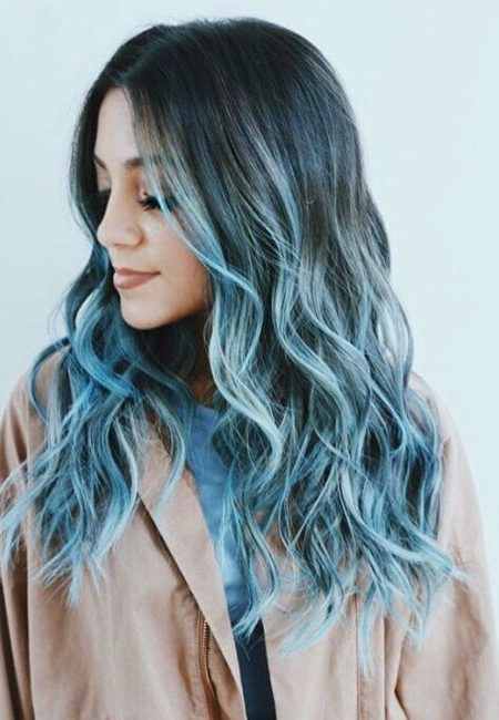 Pastel Blue Hair Color Ideas for 2017   Haircuts, Hairstyles 2016 / 2017 and Hair colors for short long & medium hair