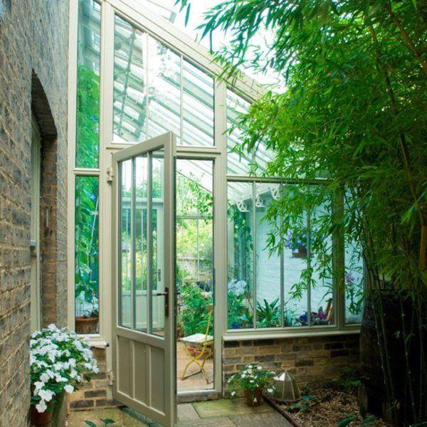 Wintergarten Selber Machen wintergarten selber machen vollverglast bambus rustikale häuser
