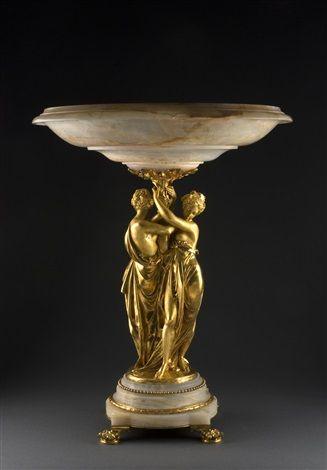 Albert-Ernest Carrier-Belleuse (1824-1887) - Tazza