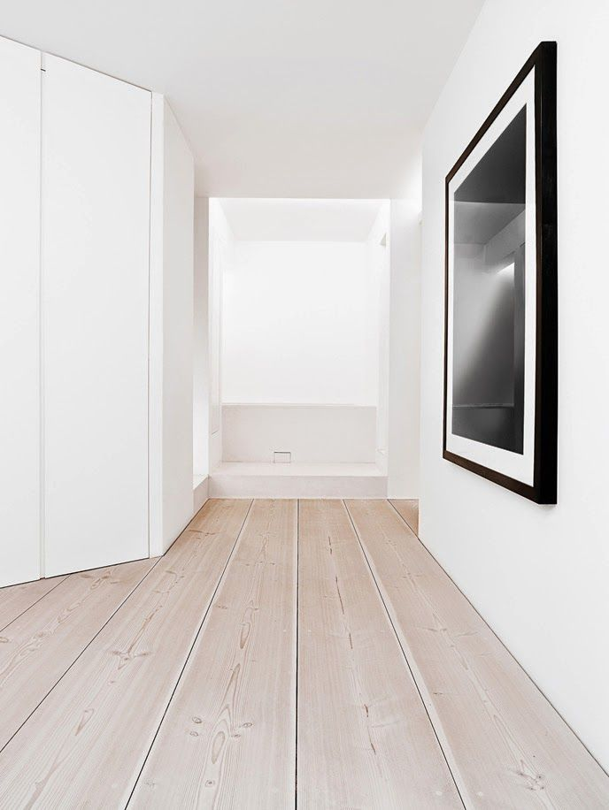 Extra Wide Plank Floorboards In Pale Wood From Dinesen Used