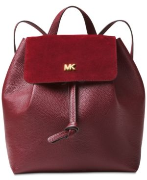 c7e02ecb2bc6 Michael Michael Kors Junie Suede Flap Backpack - | Products ...