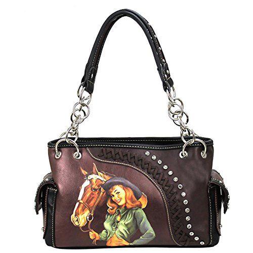 Montana West Mw26 8085 Cow Horse Handbag