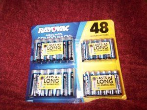 Ray O Vac Batteries 48 Pack 24 Aa 24 Aaa By Rayovac 19 85 Rayovac Alkaline Batteries Perform As Well As Energi Household Batteries Alkaline Battery Health