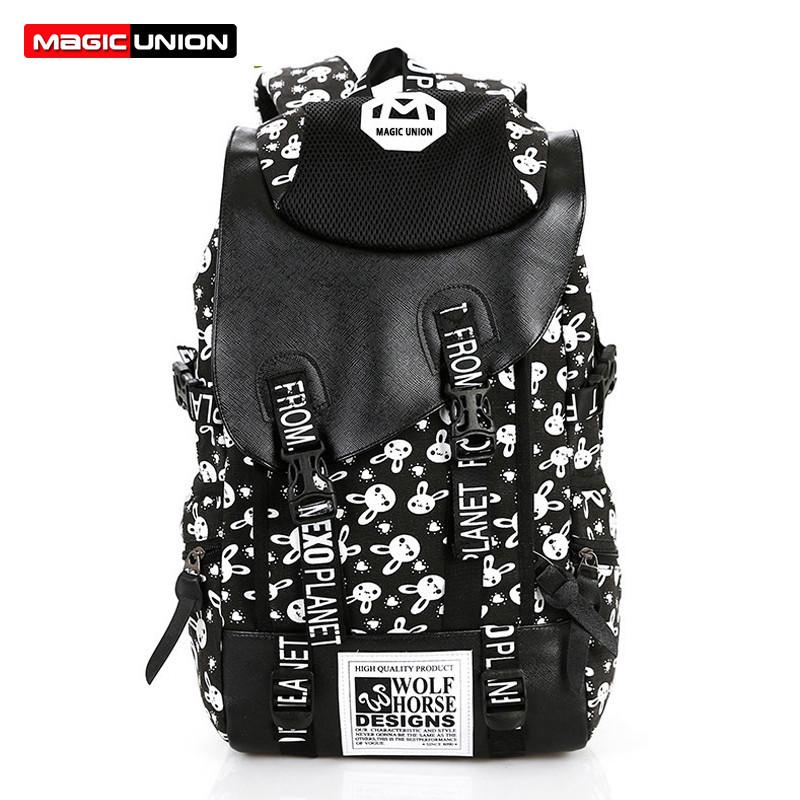 57.99$  Buy here - http://vibfj.justgood.pw/vig/item.php?t=rmy60v38887 - Backpacks Vintage Retro rucksacks Rabbit School