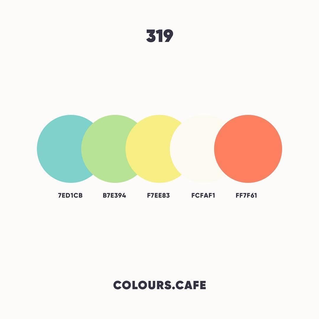 Colours Colors Cafe Colours Cafe Instagram Photos And Videos Flat Color Palette Color Palette Design Color Palette