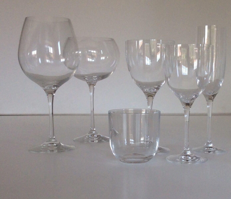 Calici Vino E Acqua calici e bicchieri in cristallo. calici disponibili 12 pezzi