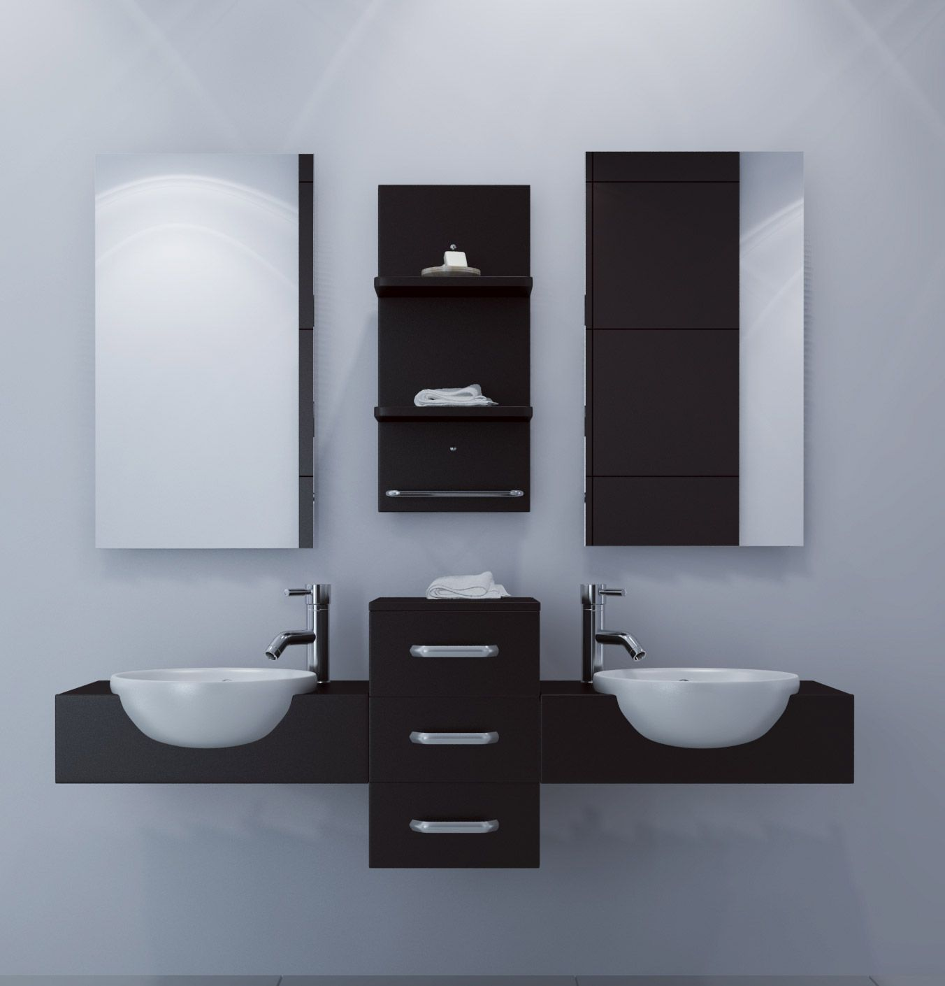 Floating Bathroom Vanity Height Floating Bathroom Vanity Modus