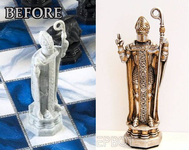 That S Just Paint Awesome Harry Potter Wizards Chess Transformation Harry Potter Props Wizard Chess Harry Potter Wizard