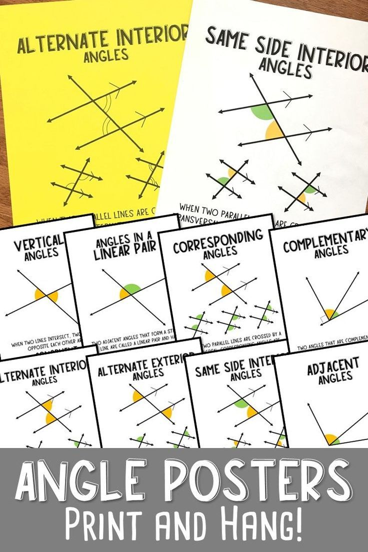 hight resolution of Pin on Teaching Angles and Angle Relationships
