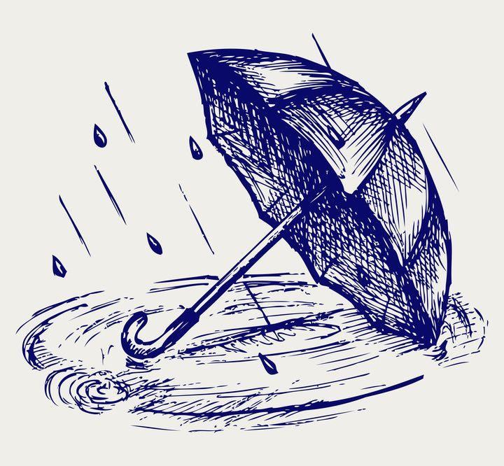 Dessin de parapluie inked pinterest parapluies - Parapluie dessin ...