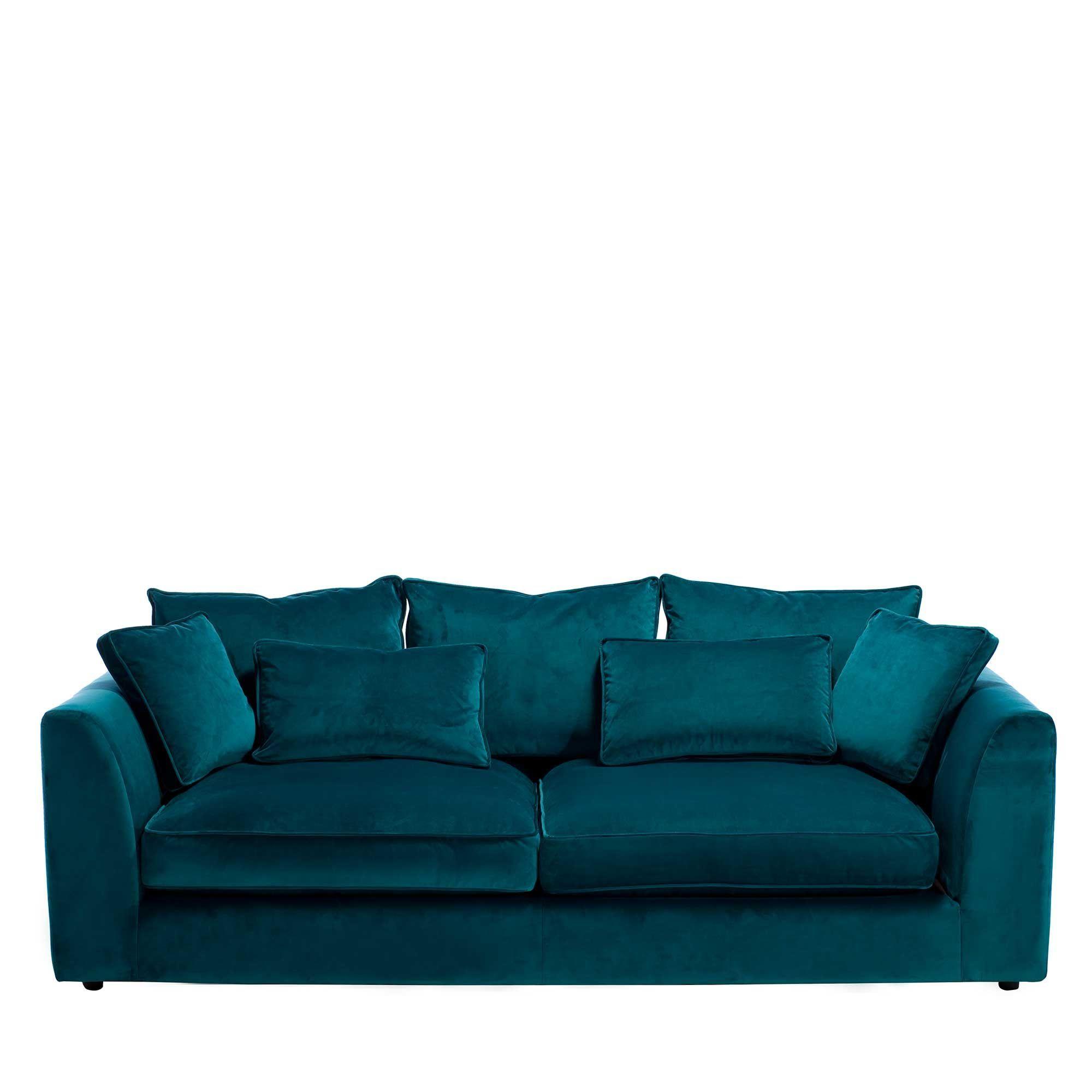Pin By Sofacouchs On Sectional Sofa Large Sofa Teal Velvet Sofa Corner Sofa Living Room