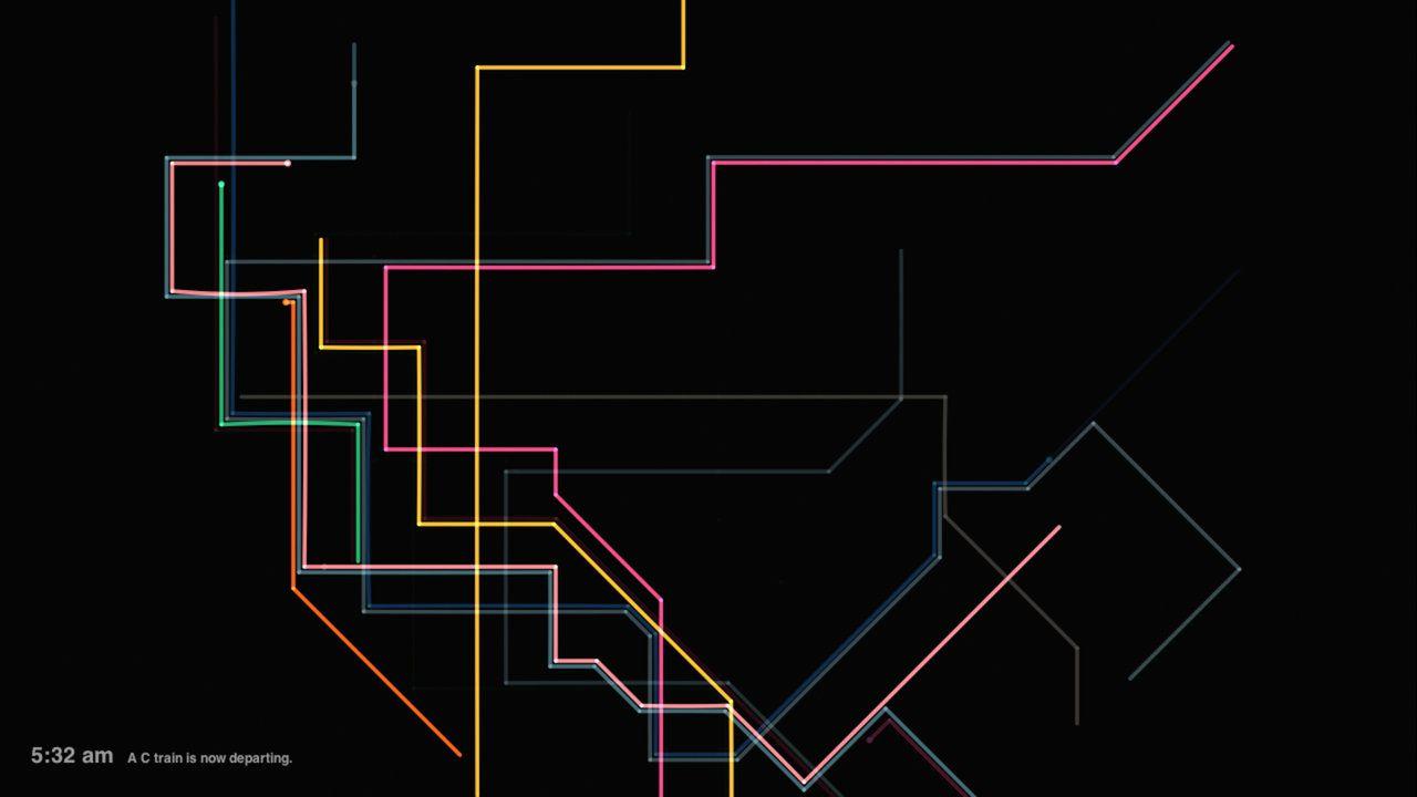 Alexander Chen nel 2010 ha lanciato il portale www.mta.me, grazie al quale l'intera rete metropolitana di New York si è trasformata in un gigantesco strumento a corda. Ospite a Video Sound Art 2011.