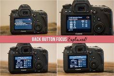 Back Button Focus Explained: Take Your Focus to the Next Level!   If there is anything I wish I had known sooner in my journey as a photographer, it would be this one simple thing: Back Button Focus. This has been quite possibly the biggest game changer in my