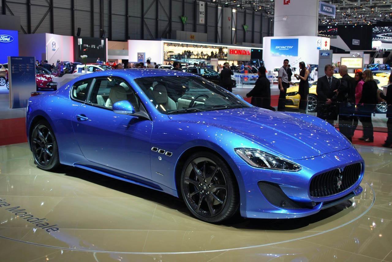 Блог › Женева 2012 › Maserati GranTurismo Sport Maserati