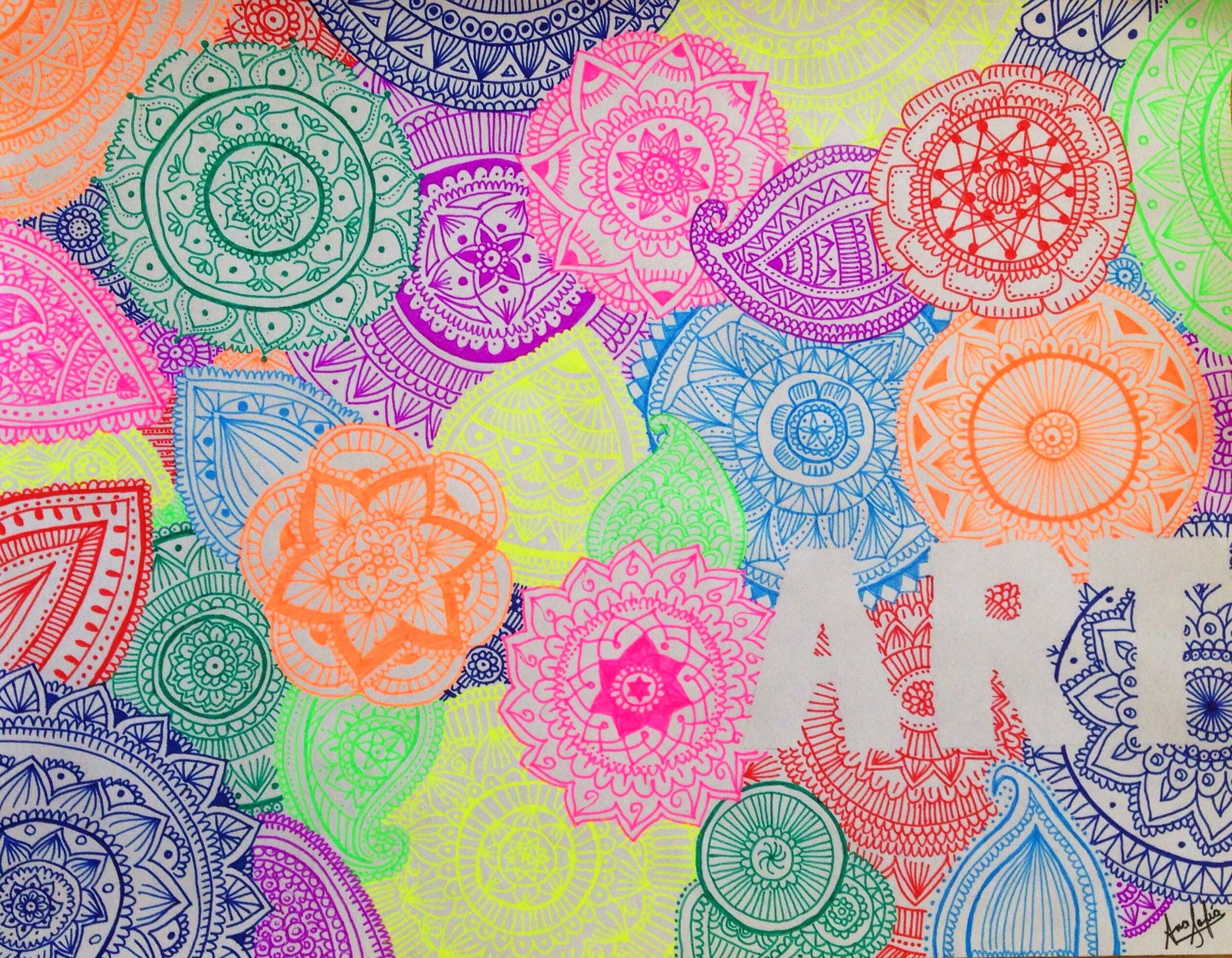 I'm just in love with thisss♥️  #art #love #drawingoftheday #drawing #mandala #zentangle #doodle