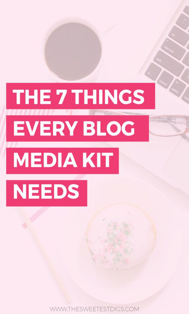 How To Create A Blog Media Kit That Brands Will Love Media Kit