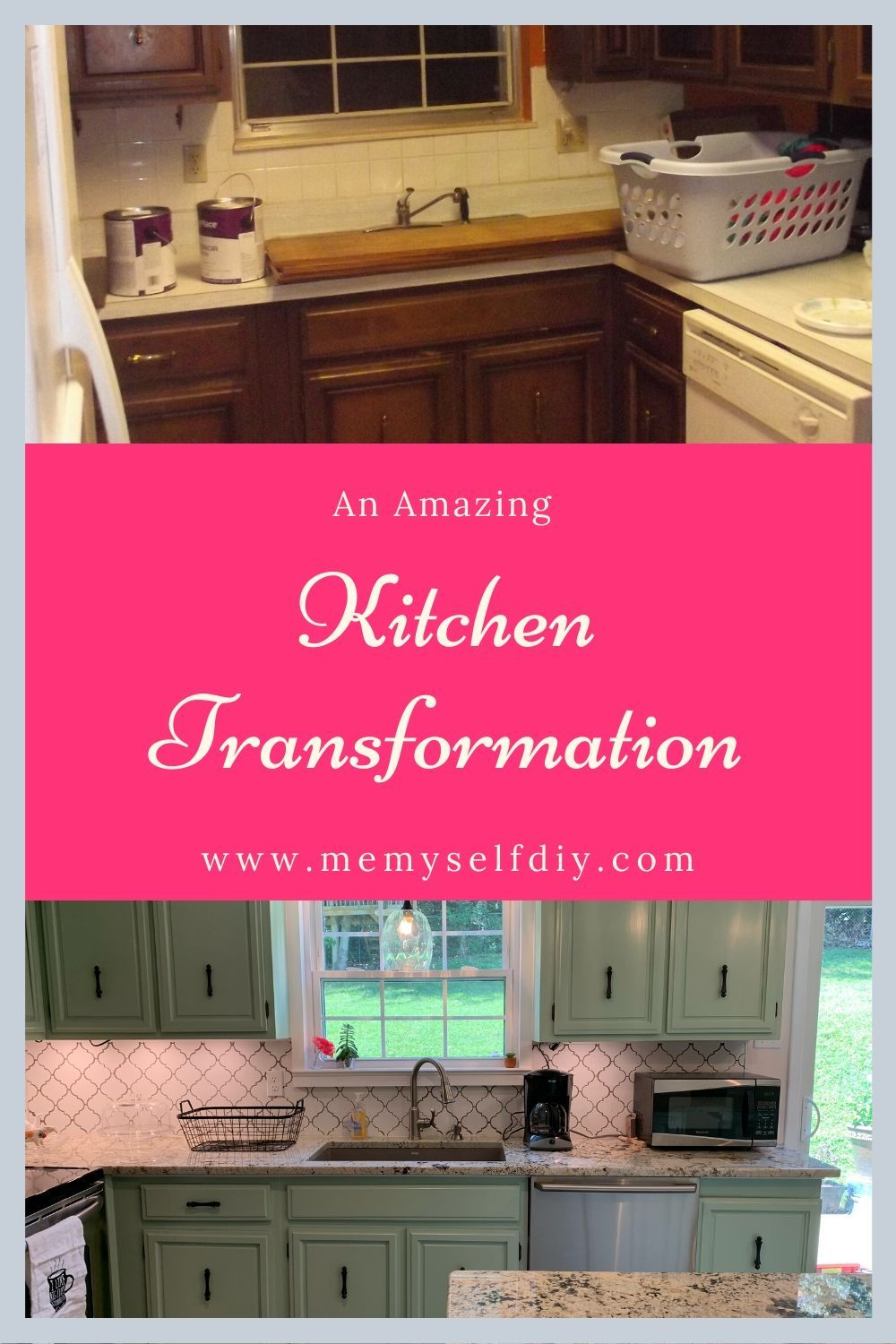 Make Your Kitchen S Footprint A Dream Cool Kitchens Kitchen Remodel Before After Kitchen
