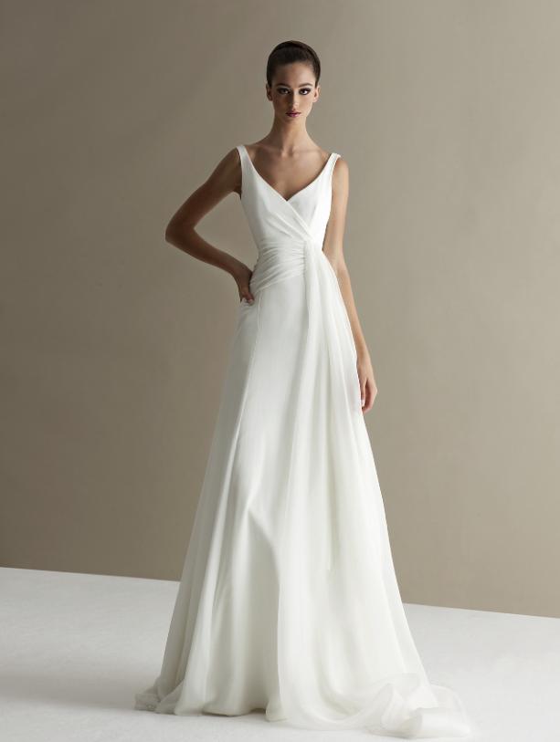 Bold and Modern Antonio Riva Wedding Dresses - MODwedding -   18 dress Simple pictures ideas