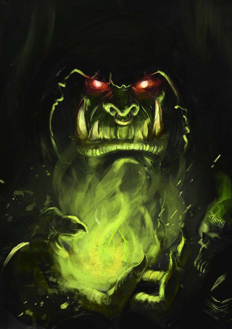 Gul Dan By Devmarine On Deviantart Fantasy Art Orques