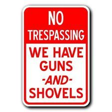 NOTICE PLEASE LEAVE Novelty Policital Aluminum Sign 12X18 Gift Funny Metal