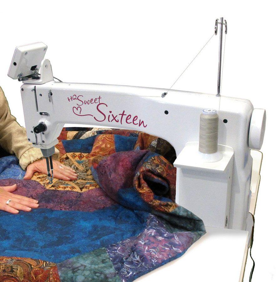 Handi Quilter Sweet Sixteen Long Arm Show Model Sit Down Package Handi Quilter Sweet Sixteen Machine Quilting