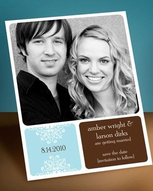 save the date magnets. love these // invitations by dawn.