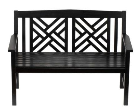 Amazon Com Achla Designs Fretwork Bench Patio Lawn Garden