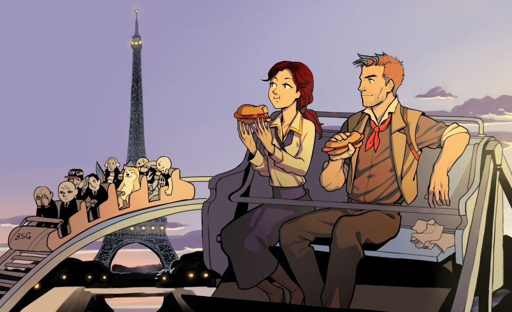 What if Booker and Elizabeth go to Paris   Bioshock Infinite