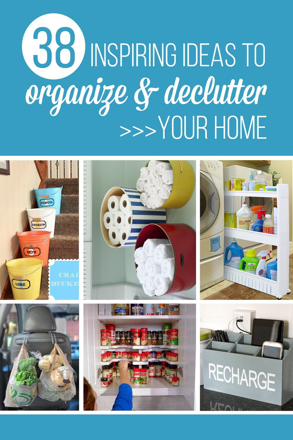 Inspiring Ideas To Organize And Declutter Your Home Make It