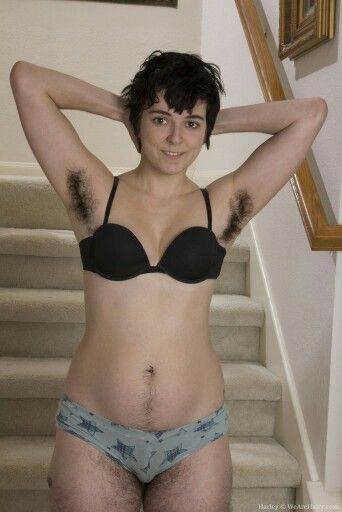 Hairy women in panties