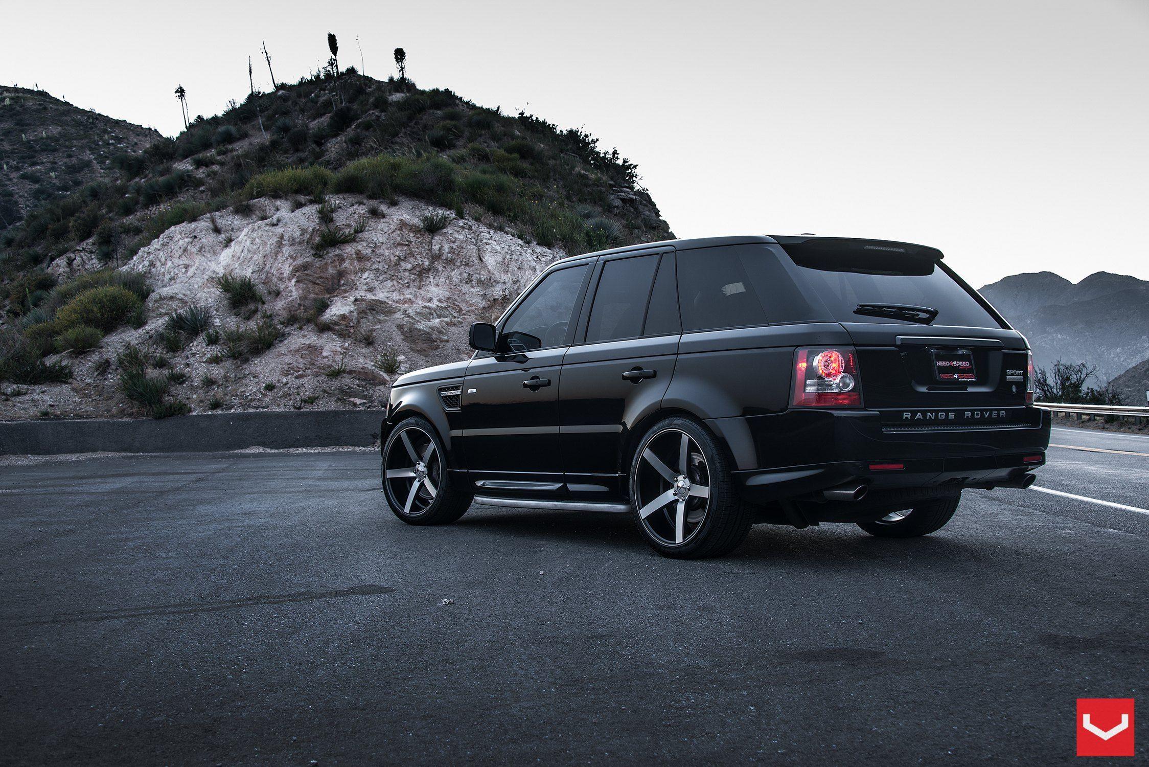 Striking Looks Range Rover Sport Enriched by Vossen Custom Wheels