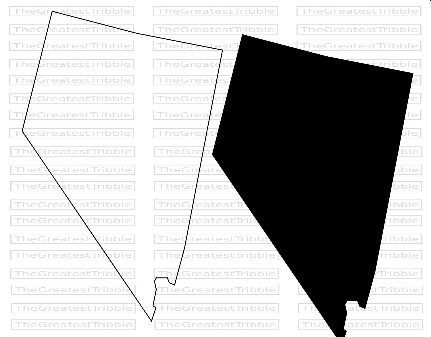 Nevada State Map Svg Png Jpg Vector Graphic Clip Art Nevada Etsy Clip Art Nevada Map State Map