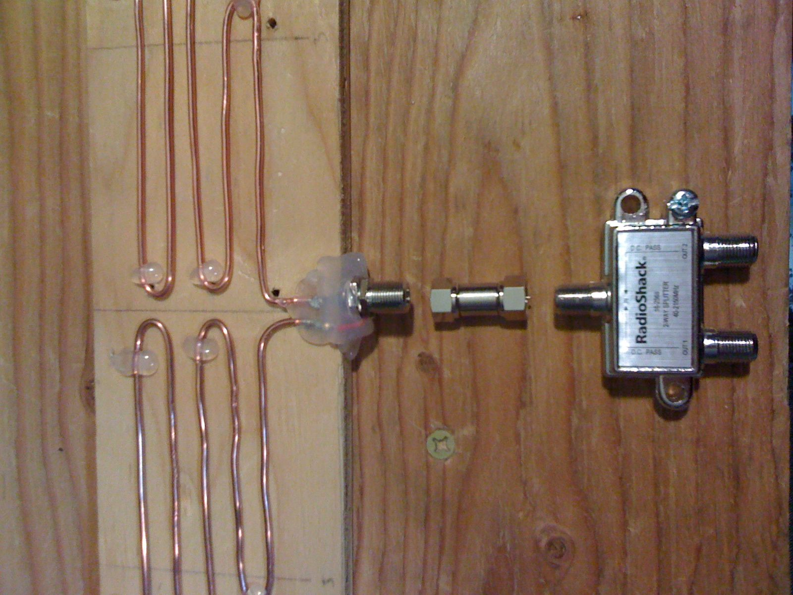 My DIY HDTV antenna Diy tv antenna, Diy electronics, Diy tv