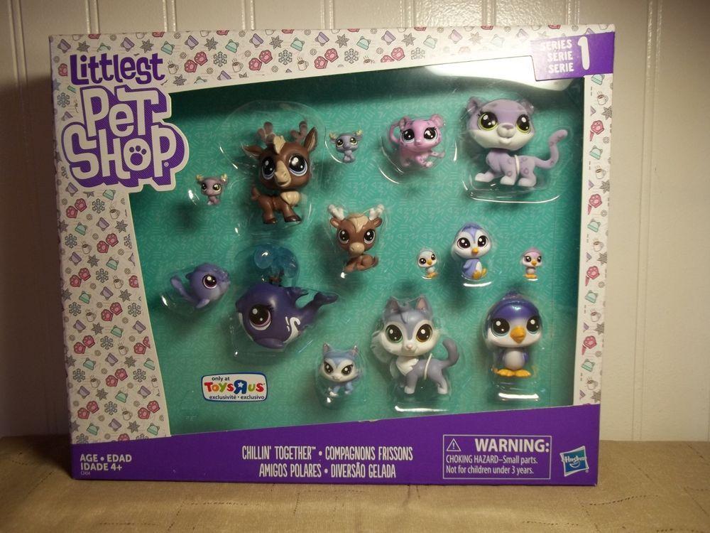 Littlest Pet Shop Chillin Together Pet Tru Toys R Us Exclusive Moose Whale Htf Hasbro Littlest Pet Shop Pet Shop Toys R Us