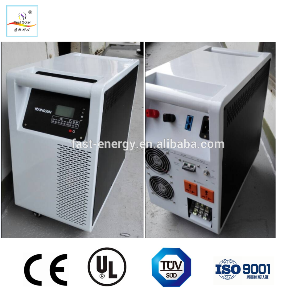 High Power Home Off Grid Solar Panel Power System 10kw With 10kw Pure Sine Wave Solar Inverter
