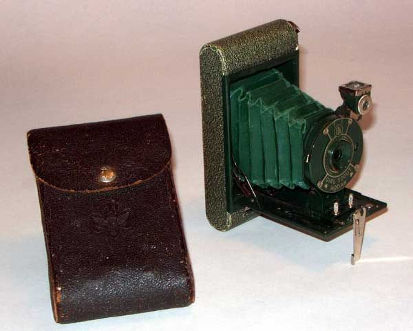 Folding Girl Scout Kodak