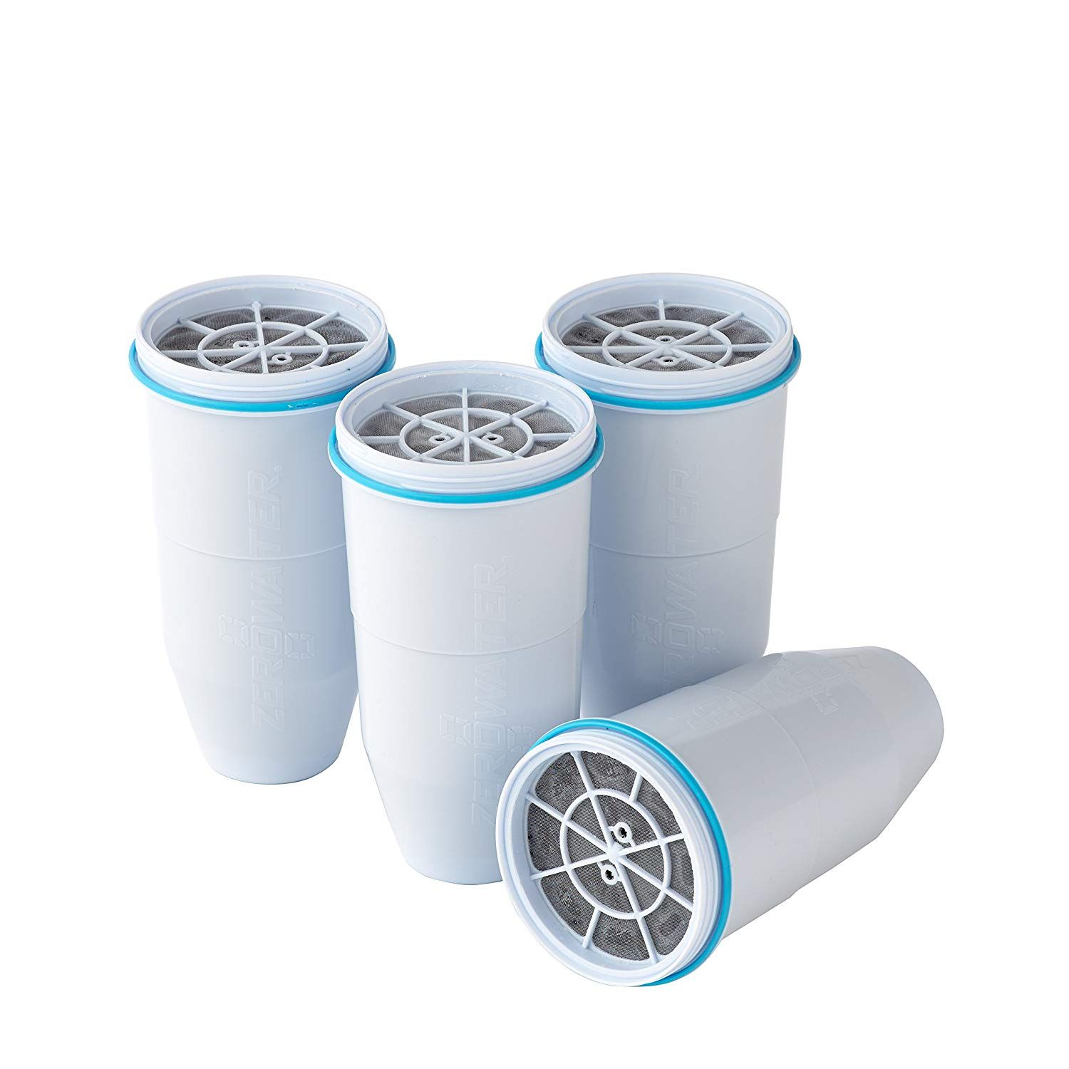 Zerowater Zr 006 Replacement Water Filter Cartridges Pack Of 4 Amazon Co Uk Kitchen Home Replacement Filter Water Filter Pitcher Water Filter