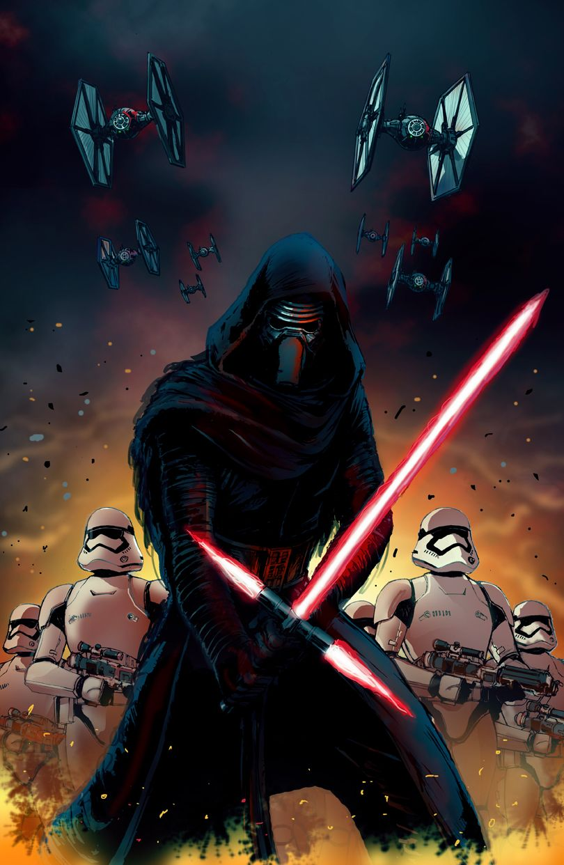 Kylo Ren And The First Order Andrew Griffith ダースベーダー
