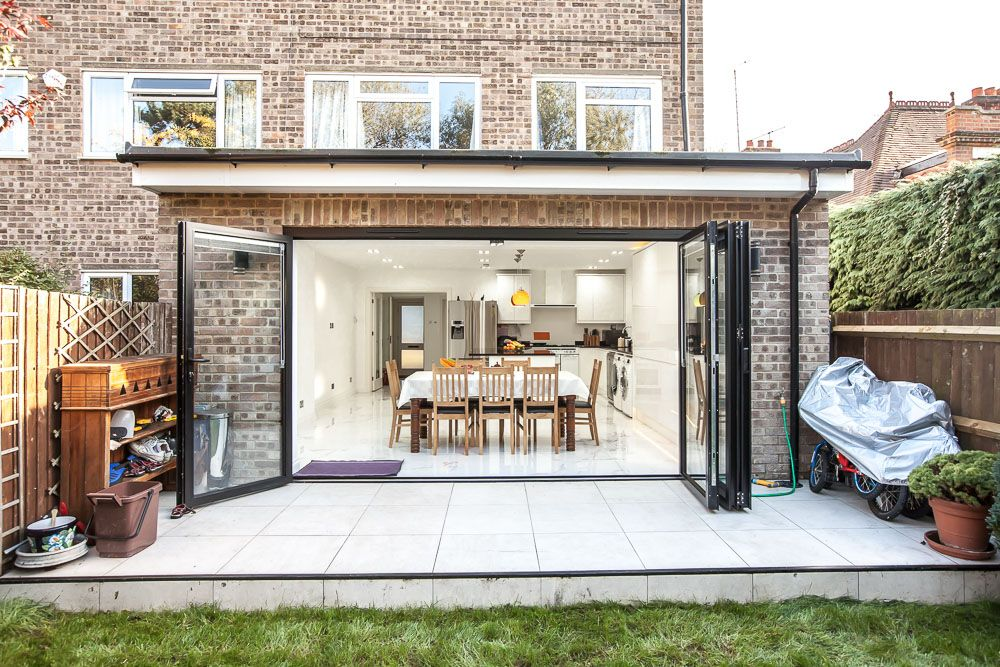 Single Storey Extension And Garage Conversion In Kingston By L E Lofts And Extensions Don T Move Ext Single Storey Extension County House Kitchen Extension