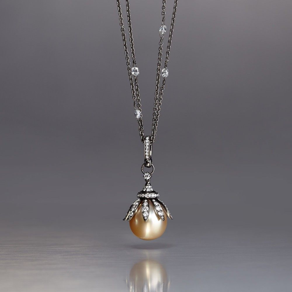 Annoushka golden pearls pendant in jewellery ideas