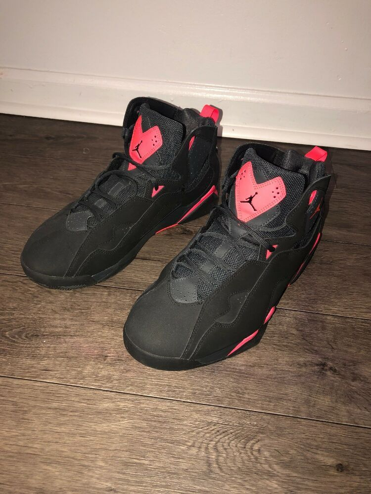 ca83af3c96c5 Jordan Retro 7 Black Pink  No Scratches  Worn A Couple Times  100% Authentic   fashion  clothing  shoes  accessories  mensshoes  athleticshoes (ebay link)