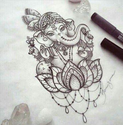 15+ ideas tattoo elephant buddha art decor