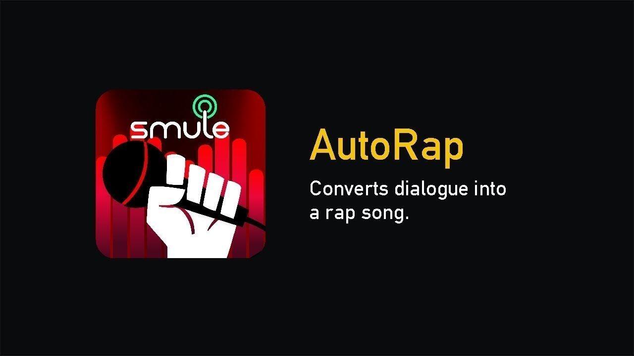 Autorap App Review [Autorap By Smule] Rap songs, App, Songs