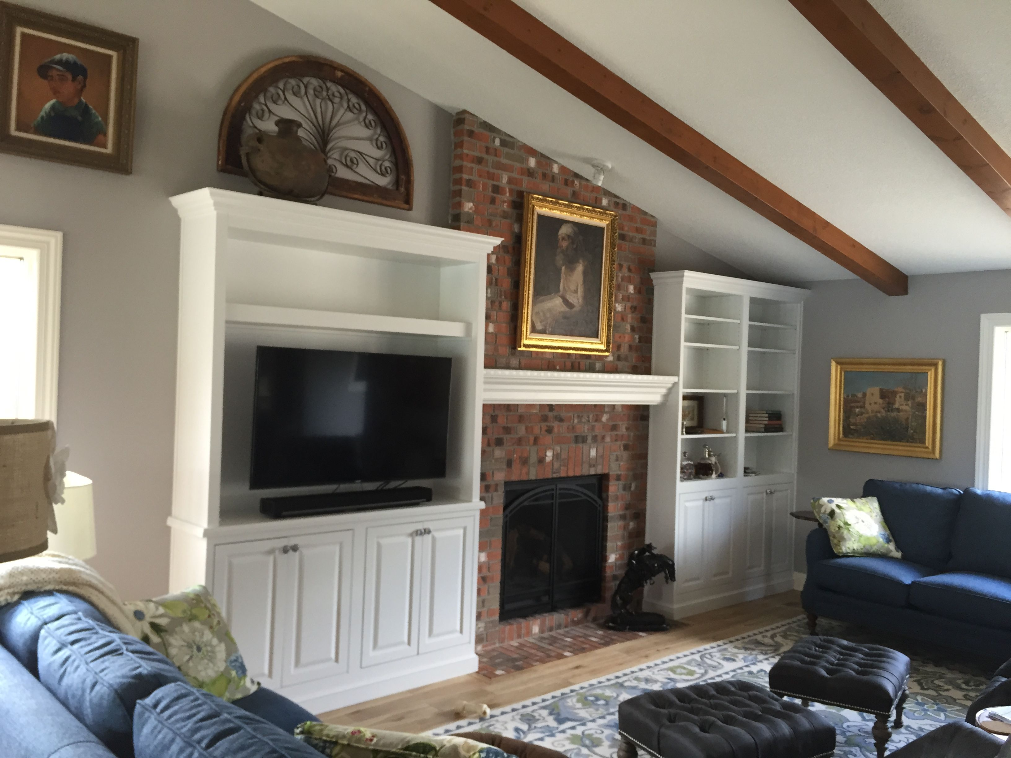 In this Findlay, Ohio, remodel the were used in a