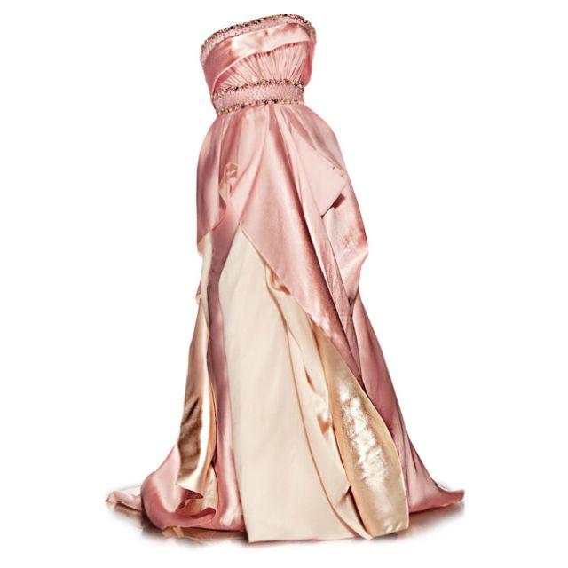 Satinee's collection - Rami Al Ali | Pink long dress ...