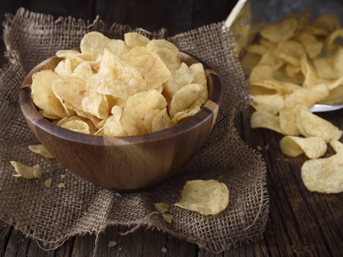 Cómo Conseguir Que Las Patatas Fritas De Bolsa Vuelvan A Estar Crujientes Papas Fritas Bolsas De Patatas Patatas Fritas